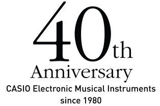 Casio EMI 40th Anniversary since 1980