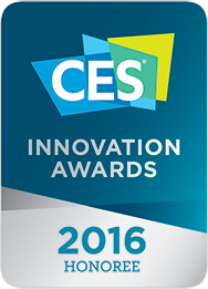 CES Innovation Awards 2016 honoree