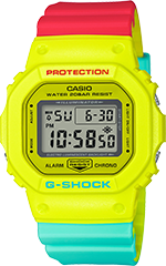 DW5600CMA-9 in Red/Green/Yellow
