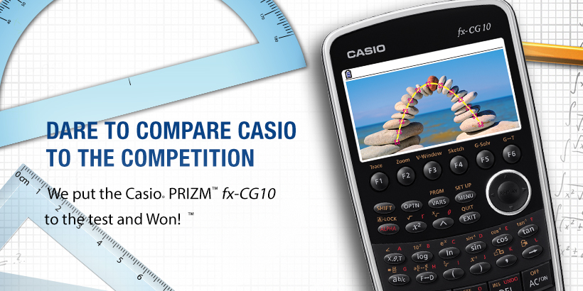 Don't Miss us at NCTM Regionals. We Put the Casio Prizm to the test and won!
