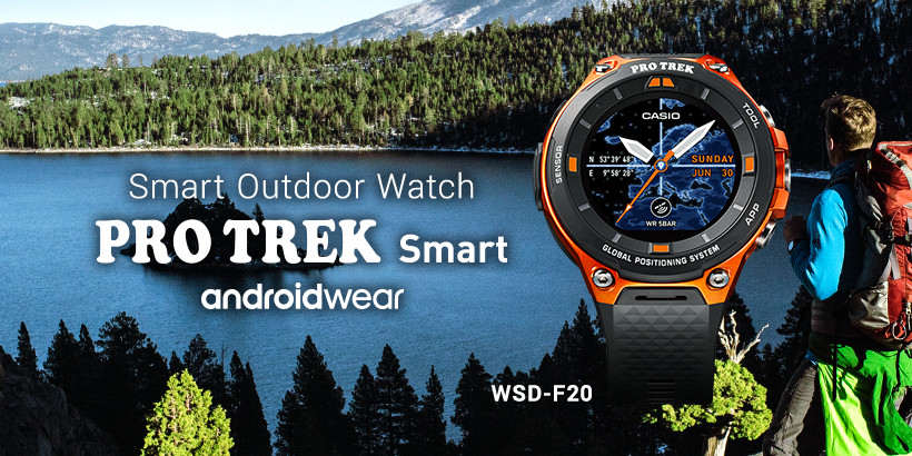Andriodwear. Smart Outdoor Watch. Smart and Active for Nature's Biggest Adventures. WSD-F10