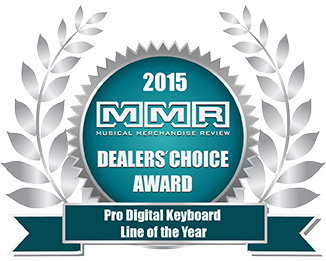 Musical Merchandise Review Annual Dealers' Choice Award winner.