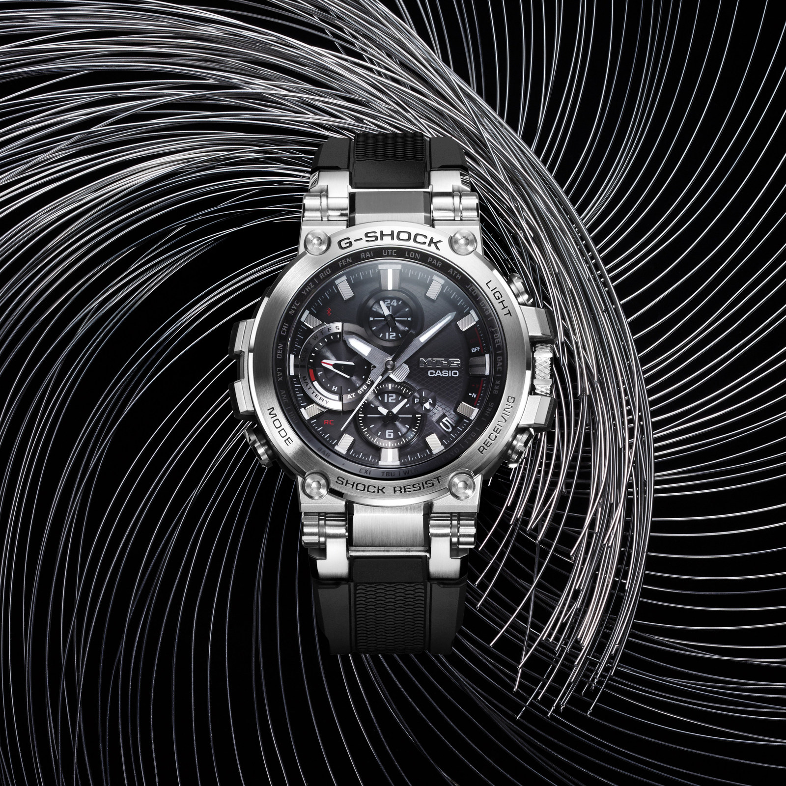 Casio G-SHOCK Elevates Luxury Line With First-Ever Connected MT-G Timepieces