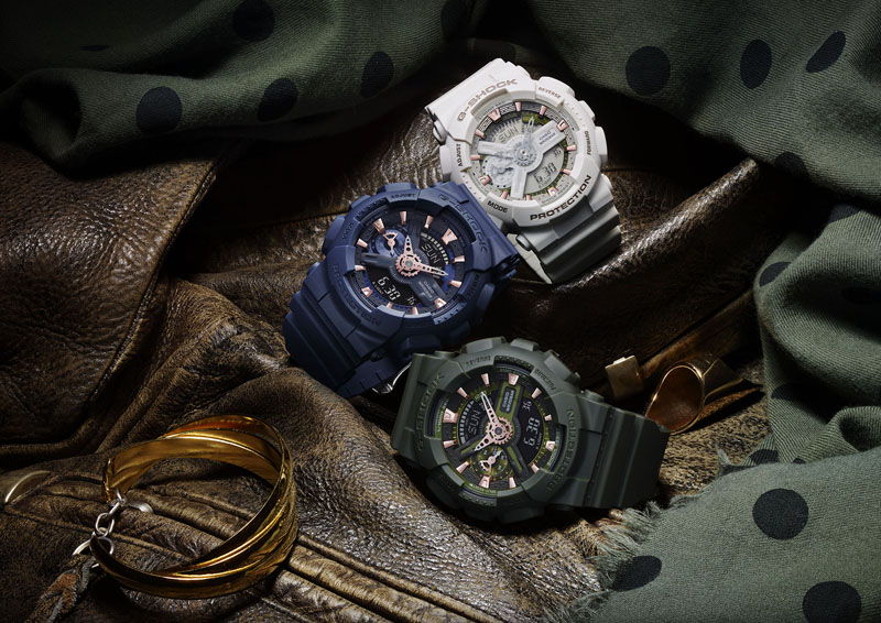 G-SHOCK S Series Military Collection