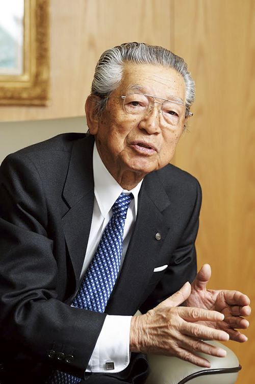 Casio Chairman and CEO Kazuo Kashio