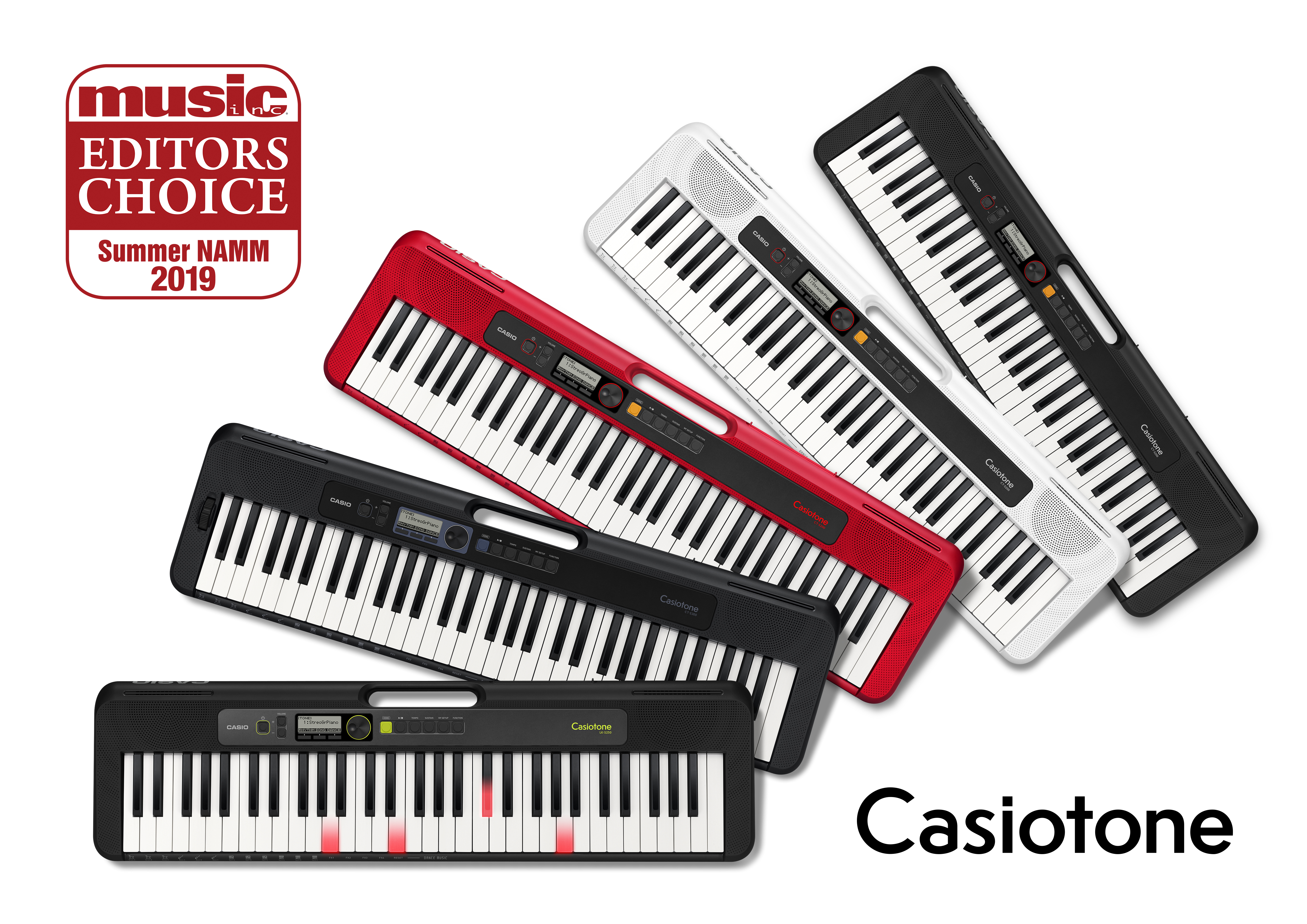 Casio Receives Music Inc. Magazines Summer NAMM 2019 Editors Choice Award