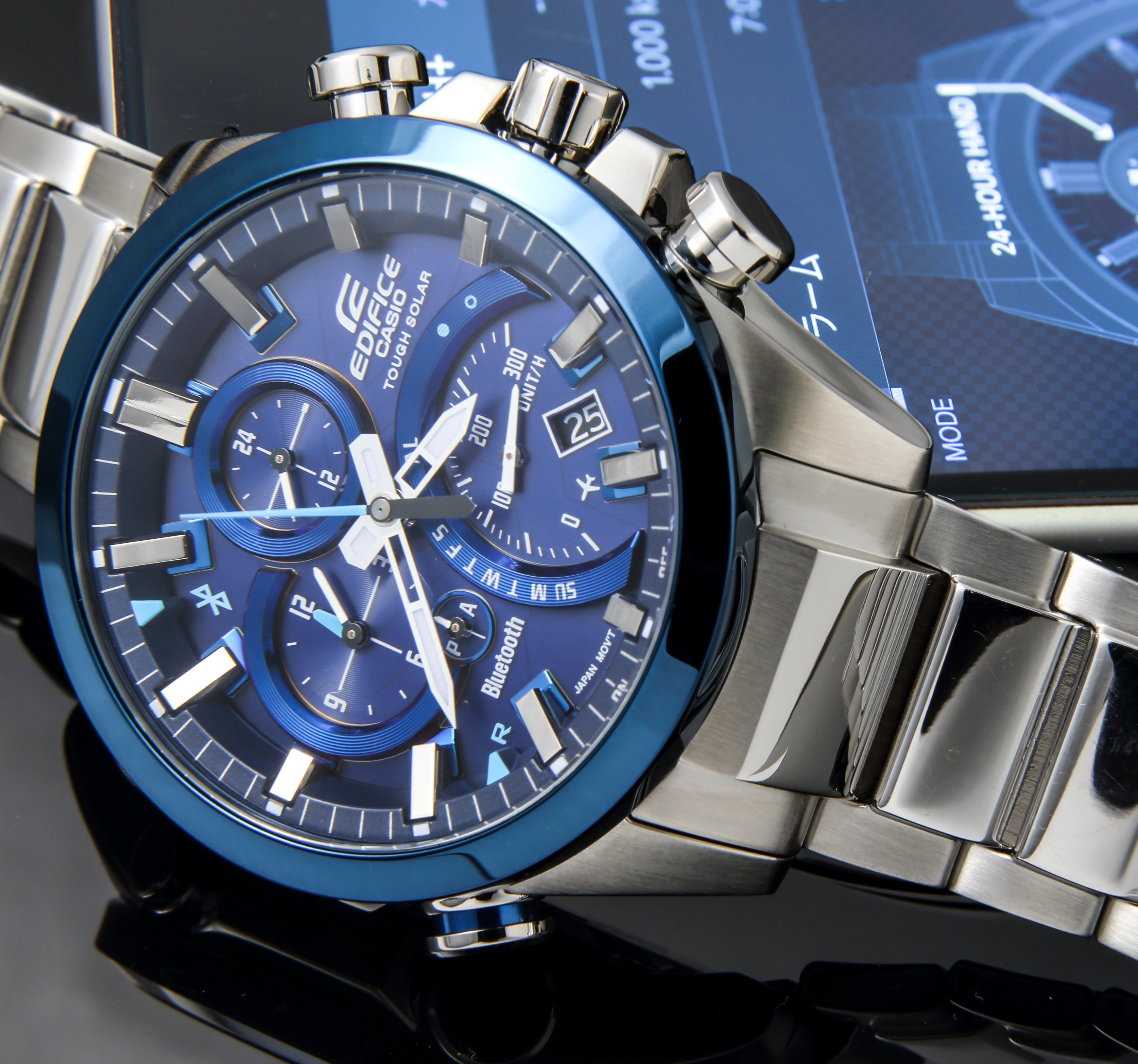 Casio Introduces Latest EDIFICE Timepiece With Smart Phone Link