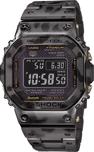 G-SHOCK Digital GMWB5000TCM-1 Men's Watch