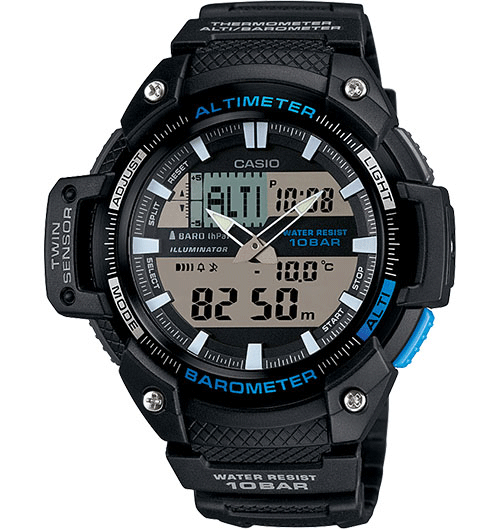 Download free pdf for casio sgw400h-1b watch manual.
