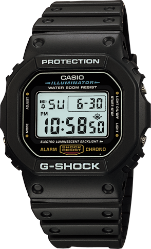 DW5600E-1V in Black