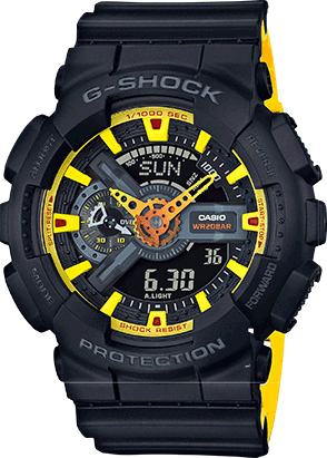 GA110BY-1A in Black