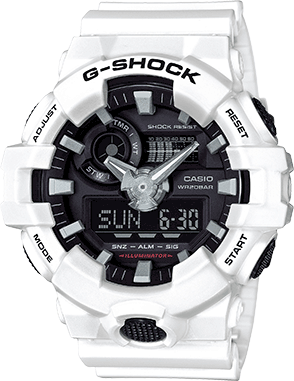 G-SHOCK Analog-Digital GA700BMC-1A Men's Watch Black