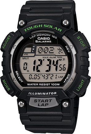 STLS100H-1AV in Black/Green/Silver