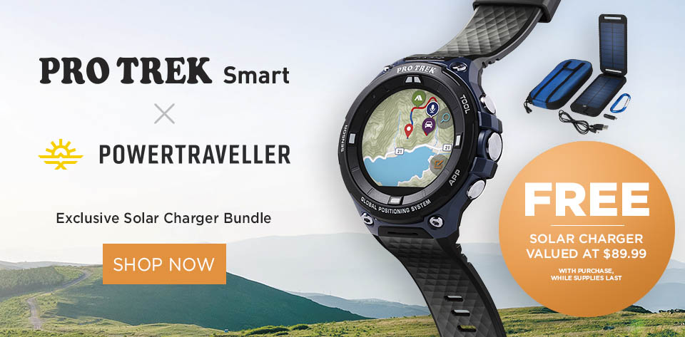 Protrek smart with free bundle