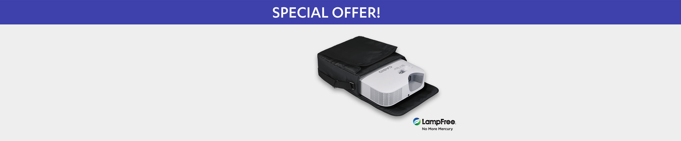 Purchase XJ-F200WN and receive a Free Projector Case and Free Premium Ground Shipping