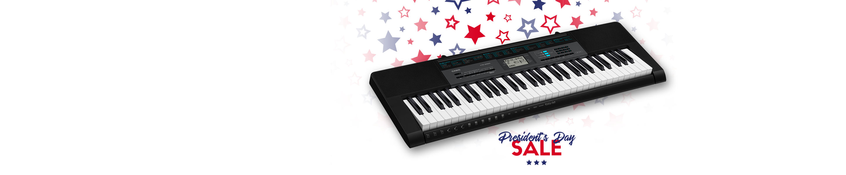Casio Music Gear Special Offers
