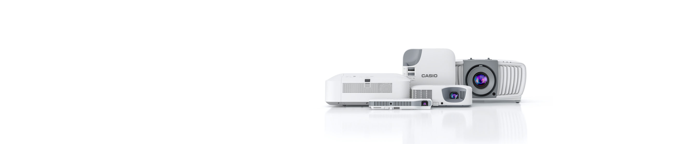 Meet the Projectors Family. Simple. Faster. Brighter. Better.