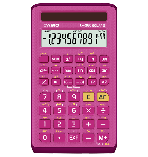 fx-260solarpk Calculator Watch