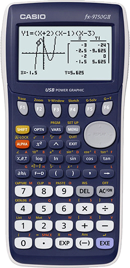 fx-9750GIIBU Calculator