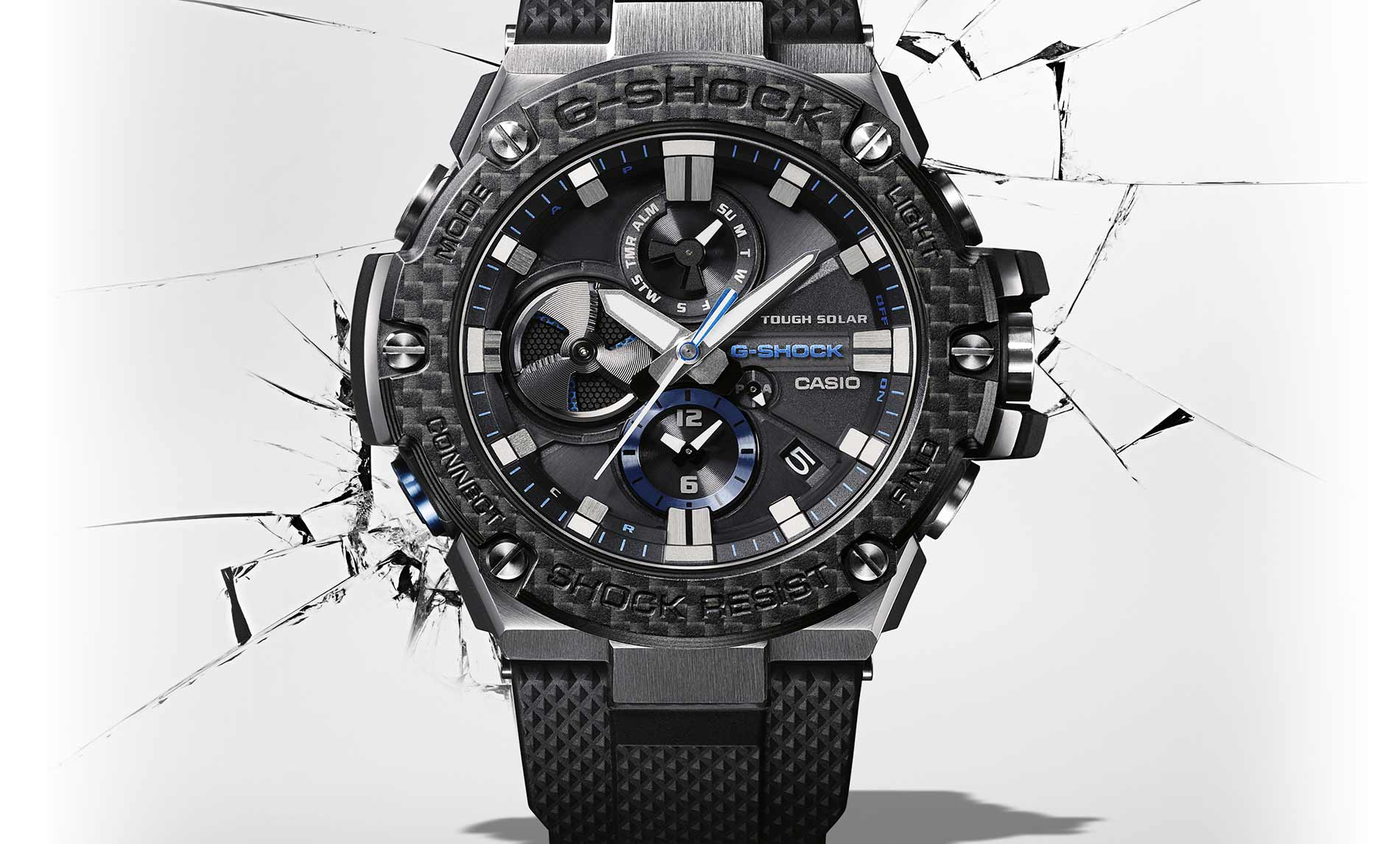 Analog And Digital Stainless Steel Watches G Steel By G Shock