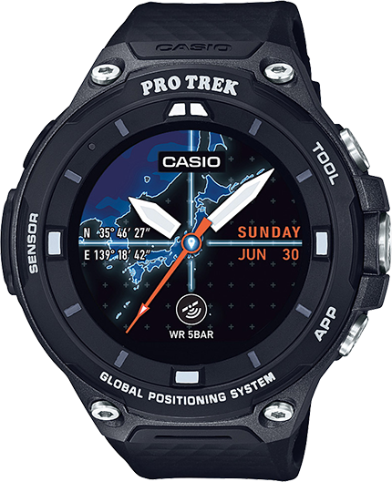 Pro Trek Smart Watch WSD-F20BK