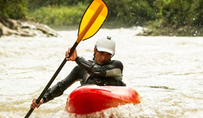 The essential emergency pack for a kayaking adventure