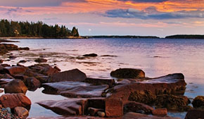 Climate guide for hikers: Acadia National park