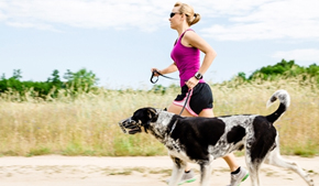 What you should know about running with man's best friend